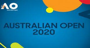 جدول نتایج و برنامه مسابقات تنیس آزاد استرالیا ۲۰۲۰