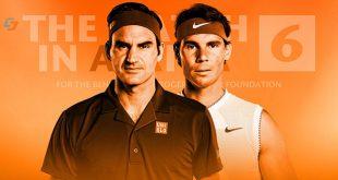 رویارویی «راجر فدرر» و «رافائل نادال» در پرتماشاگرترین دیدار تنیس جهان